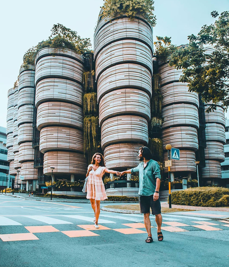 """""""Tòa nhà giỏ Dimsum"""" - Điểm check-in sang độc lạ ở Singapore - Bigtravel.vn"""